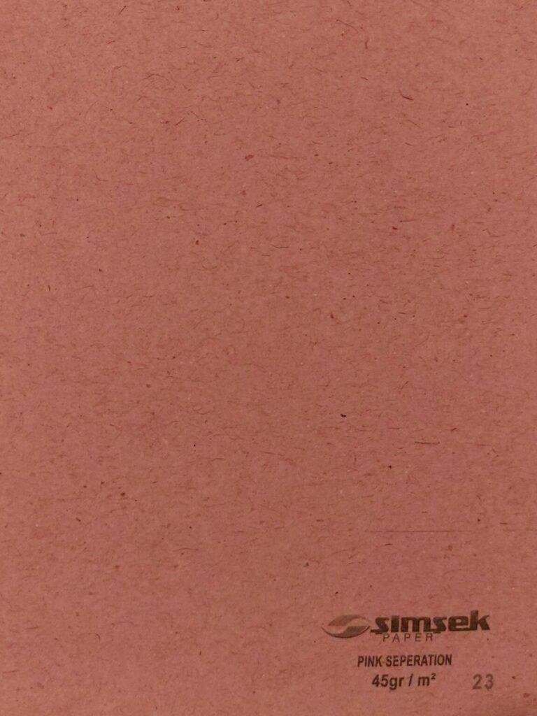 Pink Seperation (45gr-m²)
